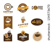 collection of nine coffee...