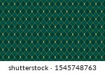 dark green color. deep emerald... | Shutterstock .eps vector #1545748763