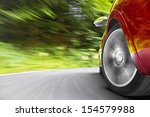 car in curve | Shutterstock . vector #154579988