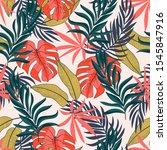 original seamless tropical... | Shutterstock .eps vector #1545847916