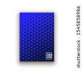 scientific annual report... | Shutterstock . vector #1545858986