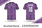 soccer jersey template sport t... | Shutterstock .eps vector #1545904559