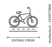 track cycling linear icon.... | Shutterstock .eps vector #1545975806