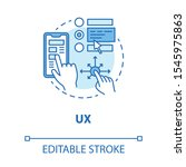 ux concept icon. software...