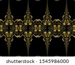 a hand drawing pattern made of... | Shutterstock . vector #1545986000