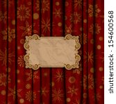 christmas vintage background... | Shutterstock .eps vector #154600568