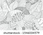 vector hand drawn outline... | Shutterstock .eps vector #1546034579