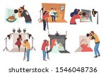 photographers and photo studio  ... | Shutterstock .eps vector #1546048736