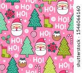 cute santa claus  christmas... | Shutterstock .eps vector #1546066160