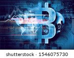 mining of crypto currency .... | Shutterstock . vector #1546075730