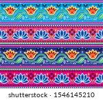 pakistani or indian truck art... | Shutterstock .eps vector #1546145210