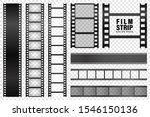realistic film strips...   Shutterstock .eps vector #1546150136