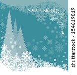 christmas background with... | Shutterstock .eps vector #154619819