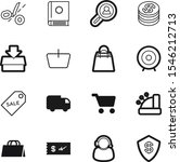 market vector icon set such as  ... | Shutterstock .eps vector #1546212713