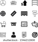 market vector icon set such as  ... | Shutterstock .eps vector #1546212830