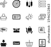 market vector icon set such as  ...