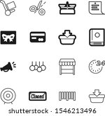 market vector icon set such as  ... | Shutterstock .eps vector #1546213496
