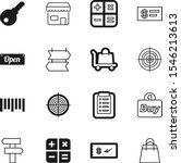 market vector icon set such as  ... | Shutterstock .eps vector #1546213613