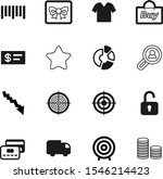 market vector icon set such as  ... | Shutterstock .eps vector #1546214423
