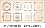 gorgeous and beautiful vintage... | Shutterstock .eps vector #1546228550