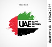 happy national day uae. united...   Shutterstock .eps vector #1546262999