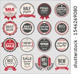collection of super sale and... | Shutterstock . vector #1546269080