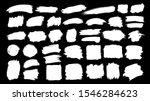 set of thick brushstrokes.... | Shutterstock .eps vector #1546284623