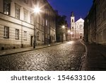 The Street Of The Old Town In...