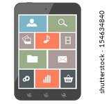 touchscreen smartphone with...