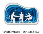 group of business people...   Shutterstock .eps vector #1546365269