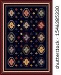 colorful ornamental vector... | Shutterstock .eps vector #1546385330