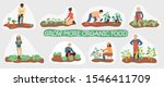 collection of organic stickers... | Shutterstock .eps vector #1546411709