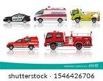 vector eps10   set of emergency ...   Shutterstock .eps vector #1546426706