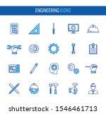 bundle of engineering set icons ... | Shutterstock .eps vector #1546461713