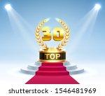 top 30 best podium award sign ...   Shutterstock .eps vector #1546481969