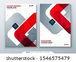 red magazine design. cover...   Shutterstock .eps vector #1546575479