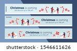 christmas sale mobile banner... | Shutterstock .eps vector #1546611626