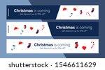 christmas sale mobile banner... | Shutterstock .eps vector #1546611629