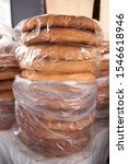 Small photo of Pan Chuta bread delicious traditional symbology and costume of the Andes