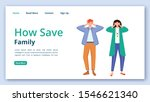 how save family landing page...
