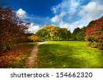 autumn in the park | Shutterstock . vector #154662320