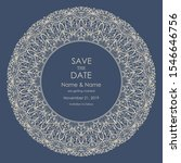 wedding invitation and save the ... | Shutterstock .eps vector #1546646756