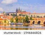city summer landscape   view of ... | Shutterstock . vector #1546666826