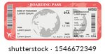 pattern of airline boarding...   Shutterstock .eps vector #1546672349