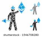 ethereum miner composition of... | Shutterstock .eps vector #1546708280