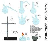 set of chemical equipment ...   Shutterstock .eps vector #1546736099