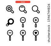 search icon isolated sign...