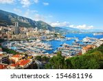 monte carlo city panorama. view ... | Shutterstock . vector #154681196