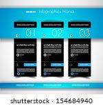 infographic design template... | Shutterstock . vector #154684940