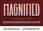 magnified condensed tall vector ... | Shutterstock .eps vector #1546864010